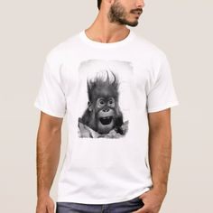 DON'T PANIC T-Shirt - portrait gifts cyo diy personalize custom