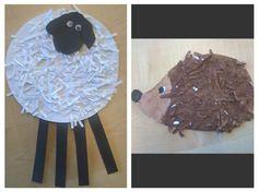 Ovečka, ježek - skartovaný papír Cake, Desserts, Tailgate Desserts, Deserts, Kuchen, Postres, Dessert, Torte, Cookies