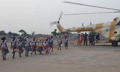 Officially...Archangel641's Blog: 82 Chibok schoolgirls freed in exchange for five B...