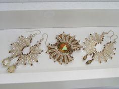 earrings and Pin