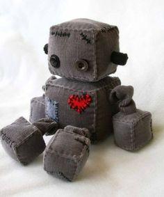 cute box robot by bleu. So cute for a little boy!