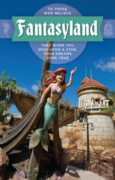 Visit Fantasyland at Walt Disney World where you can find attractions featuring Peter Pan, The LIttle Mermaid, Dumbo the Flying Elephant and Beauty and the Beast! Disney World Parks, Disney World Vacation, Disney World Resorts, Disney Vacations, Disney Trips, Disney Travel, Disney Love, Disney 2015, Disney Stuff