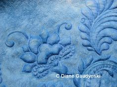 """Diane Gaudynski """"A New Tradition in Quilting"""": Part Moving the Quilt: Batting, Products, and Visibility Quilting Stencils, Free Stencils, Longarm Quilting, Free Motion Quilting, Machine Quilting, Machine Embroidery, Quilting Tutorials, Quilting Designs, Quilting Ideas"""