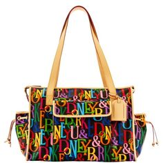 I got mine!!! Dooney & Bourke: DB Retro Diaper Bag