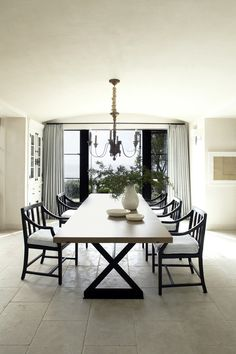 Dining Room in Dana Point, CA by M. Elle Design