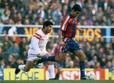 Pep Guardiola contra Maradona . Sevilla  - FCBarcelona
