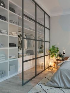 47 Brilliant Scandinavian Bedroom Design Ideas Bedroom 47 Brilliant Scandinavian Bedroom Design Ideas - Home Decor Design Bedroom Wall Designs, Bedroom Closet Design, Bedroom Wardrobe, Home Bedroom, Bedroom Decor, Bedroom Ideas, Wardrobe Doors, Scandinavian Interior Bedroom, Scandinavian Bedroom Design