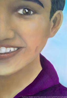 Oil painting by Fatima Nabil  www.facebook.com/artistFatimaNabil…