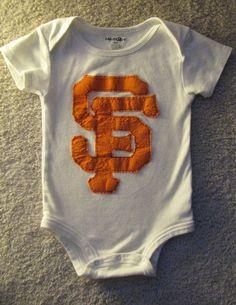 MLB Baby Boy San Francisco Giants Onesie. $12.00, via Etsy.