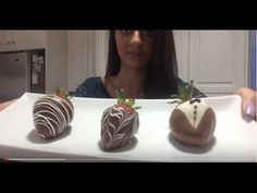 How to Make Chocolate Covered Strawberries - 3 Easy & Beautiful Designs!