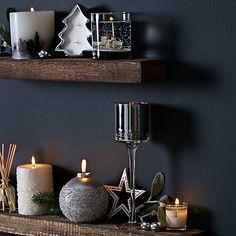 Buy Stoneglow Winter Scene Gel Candle, Medium Online at johnlewis.com