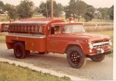 Image result for ford fire tanker