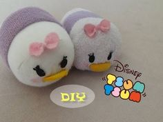 Daisy Duck- how to make your own Tsum Tsum (inspired by Disney) - YouTube