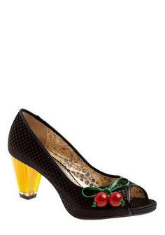 Cheery Cherry Heel
