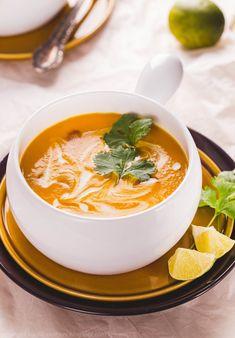 tajska zupa z batatów