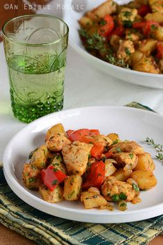 Turkey and Vegetable Hash