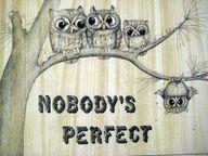 """NADIE ES """"PERFECTO"""" !"""