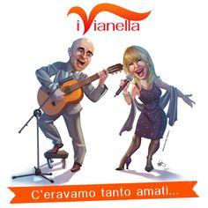 """cover per il cd de """" i vianella"""" disegno e colore  by me"""