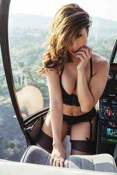 tianna-gregory-sexy in a chopper