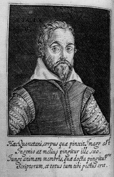 Joseph du Chesne, Sieur de la Violette (1544-1609). See: http://www.pinterest.com/pin/287386019945085511/