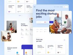 TheHub - Style Exploration 12 by Martin Strba for Balkan Brothers on Dribbble Interface Design, User Interface, Website Design Company, Website Designs, Website Ideas, Web Layout, Design Layouts, Website Layout, Landing Page Design