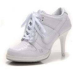 http://www.asneakers4u.com  Nike Dunk SB Low Heels All White