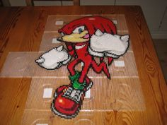 Knuckles pre-iron by ~Zakkyy on deviantART