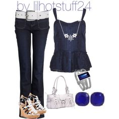 blue lagoon by lilhotstuff24 on Polyvore