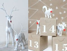 Animals de plàstic per pintar i decorar amb els nens Christmas Deco, White Christmas, Christmas Ornaments, Crafts For Kids, Arts And Crafts, Plastic Animals, Diy Projects To Try, Advent Ideas, Xmas Ideas