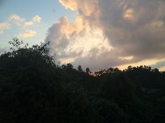 Clouds play near the Retreat