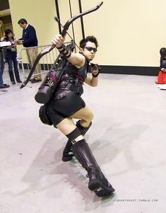 aheartlightasair:  i wasnt going to reblog but then   ~hawk eye initiative cosplay!