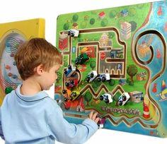 City Transportation Wall Toy - Free Shipping at SensoryEdge - Wall Toys