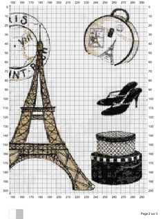 Paris Fashions 2 Cross Stitch Boards, Cross Stitch Love, Cross Stitch Animals, Cross Stitch Flowers, Cross Stitch Designs, Cross Stitch Patterns, Needlepoint Patterns, Embroidery Patterns, Cross Stitching