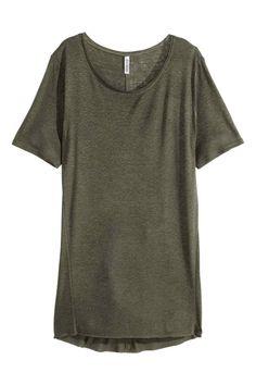 T-shirt comprida   H&M