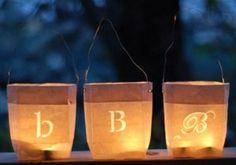 Kerst DIY: papieren lantaarns