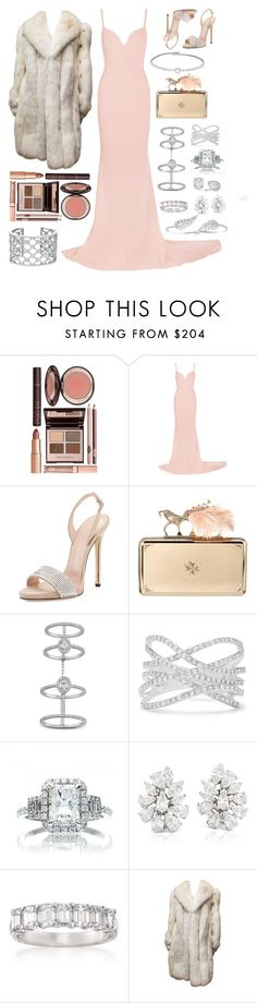 """""""Red Carpet Look"""" by ashantiannasmith ❤ liked on Polyvore featuring Charlotte Tilbury, STELLA McCARTNEY, Giuseppe Zanotti, Alexander McQueen, Verdura, Messika, Effy Jewelry, Blue Nile, Ross-Simons and perf"""