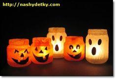 свечи на хэллоуин