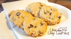 Todd & Lindsey: Chocolate Chip Cookies (Low Carb)