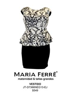 Plus Size Dress. María Ferré