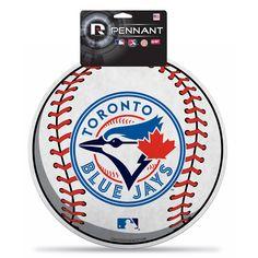 New! Toronto Blue Jays Die-Cut Pennant #TorontoBlueJays