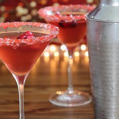 "Cranberry Martini | ""I have served these at two parties now to rave reviews. So refreshing! The only danger is it is easy to have too many!"""
