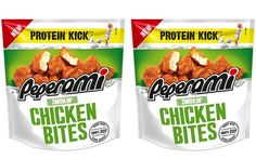 Jack Link's expands Peperami range with Smokin' Chicken Bites - FoodBev Media Snack Brands, Chicken Bites, Food Packaging Design, Snack Box, Protein Sources, New Flavour, Confectionery, Oven Baked, Catering