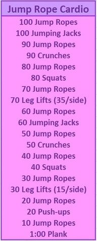 great, fairly quick workout that covers it all….This covered my squat challenge for the day I'm really enjoying jumping rope. great, fairly quick workout that covers it all….This covered my squat challenge for the day I'm really enjoying jumping rope. Fitness Motivation, Fitness Tips, Health Fitness, Squat Challenge, Jump Rope Challenge, Kardio Workout, Wods Crossfit, Jump Rope Workout, Jump Rope Routine