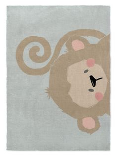 Harriet Bee Alsace Monkey Brown/Green Area Rug Rug Size: Rectangle x Little Kid Fashion, Kids Fashion, Rectangular Rugs, Accent Rugs, Bath Rugs, Online Home Decor Stores, Modern Rugs, Rug Size, Size 2