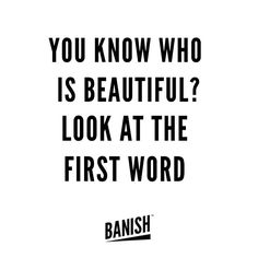 Hey beautiful :) #qotd