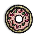 Our pink sprinkle donut hipstapatch™ is an embroidered patch that measures approximately x with a peel-and-stick adhesive backing. Stick it on your shoes, cell phone case, backpack, pocketbook, Cute Patches, Pin And Patches, Daisy Scouts, Girl Scouts, Sprinkle Donut, Cute Food, 3 Things, Donuts, Sprinkles