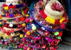 hats from Esquipulas, Guatemala.