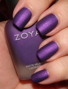 I'm not usually a fan of matte finish polishes, but this color is amazing!