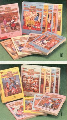 babysitters club books....my daughter had to have the entire set. She didn't read 1 book...I read them all!
