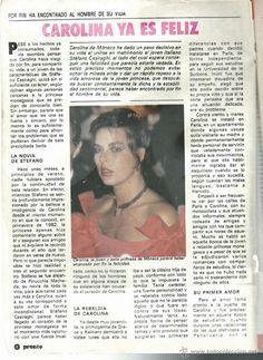 Coleccionismo de Revista Pronto: PRONTO Nº 608 CON CAROLINA DE MONACO SE CASA EMBARAZADA EN 1984 - Foto 2 - 42731503